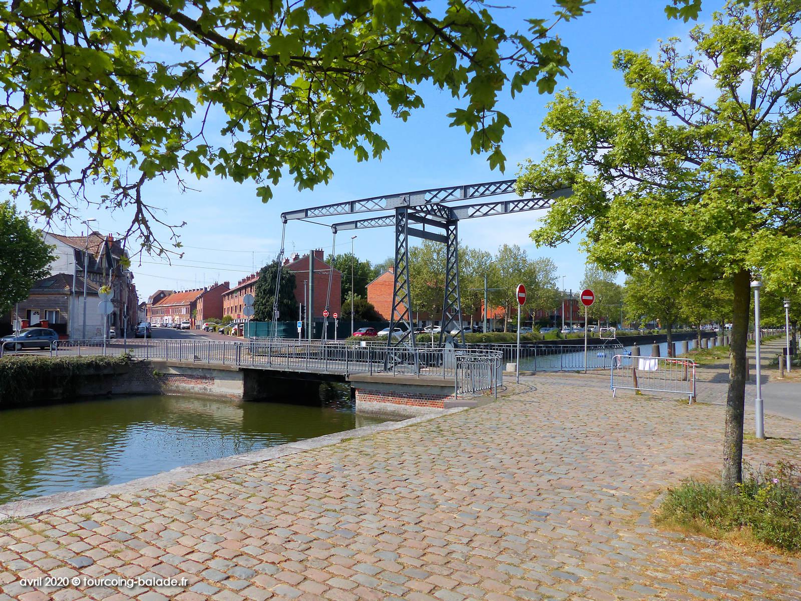 Pont de l'Espierre, Canal de Tourcoing, 2020