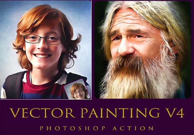 Vector Painting V4 Photoshop Action
