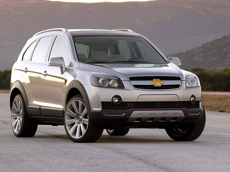 Chevrolet Captiva, The Best-Selling SUV Medium