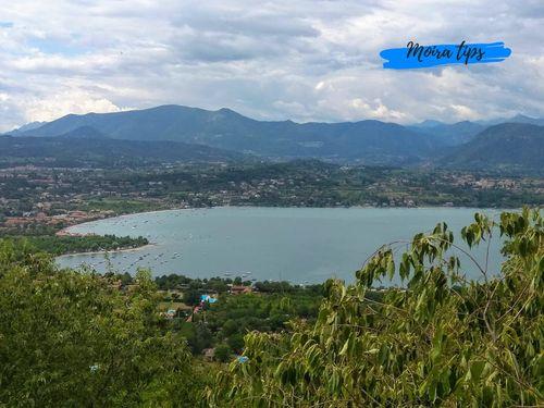 Main towns Lake Garda
