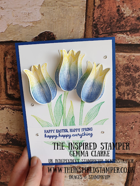 Stampin'Up! Tulips with Stamp n Write Markers