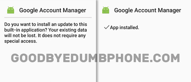 Google Account Manager 8.0 Apk Screen Shots