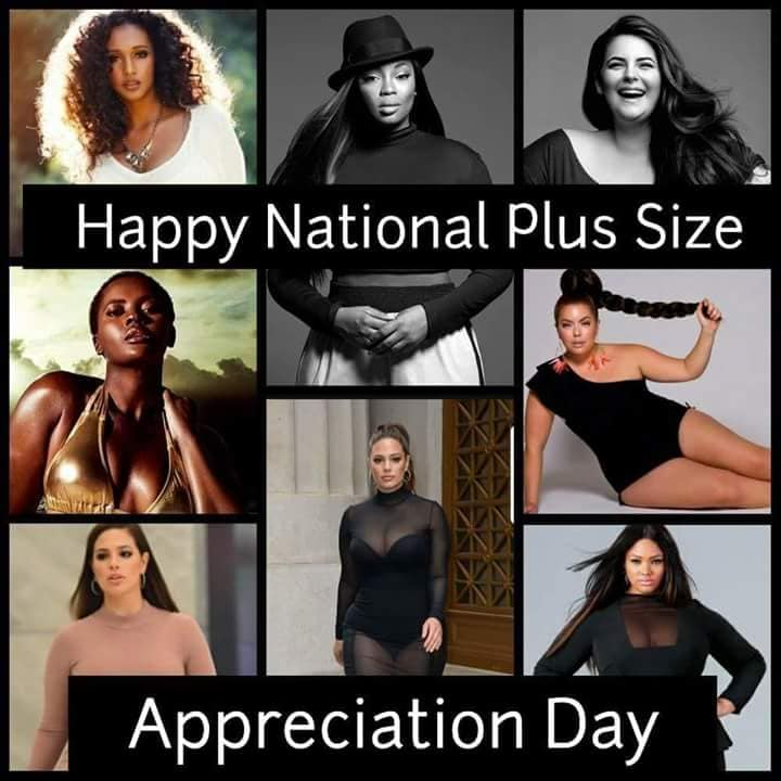 National Plus Size Appreciation Day Wishes Images download