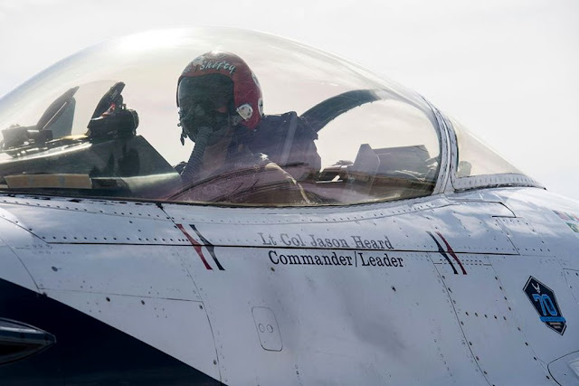 Air Force removed Thunderbirds commander