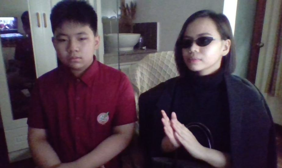 """tita gets """"extra"""" in nephew's virtual recognition"""