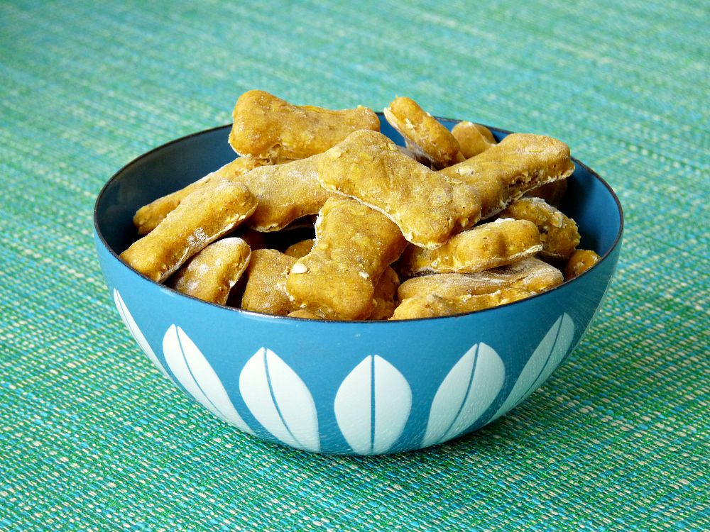 Easy DIY Dog Treats - Use Leftovers from your Fridge