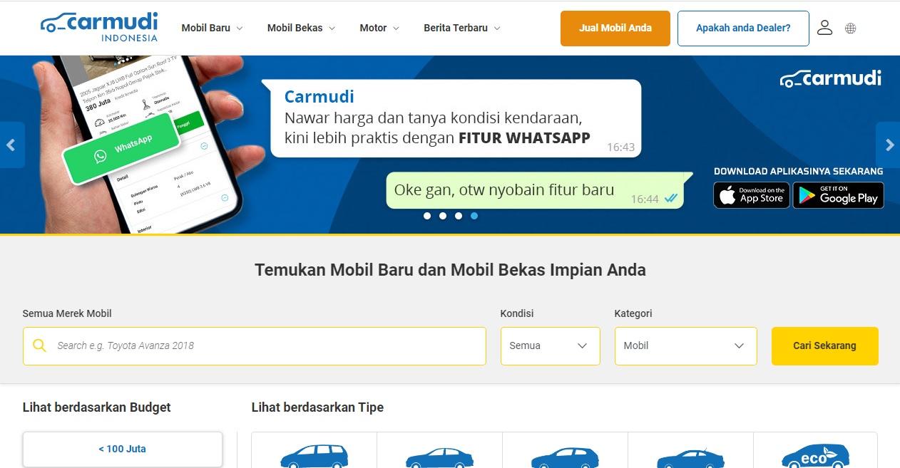 Daftar Situs Jual Beli Mobil Bekas Terbaik Di Indonesia Blogbangdoel