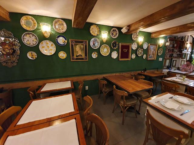 Blog Apaixonados por Viagens - Restaurante Da Brambini - Gastronomia - Rio de Janeiro