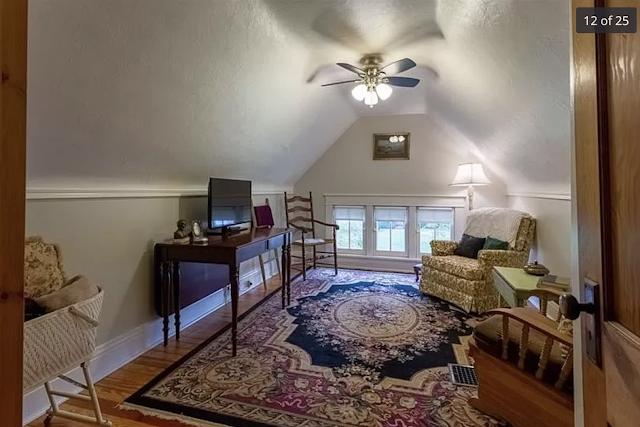 color photo of upstairs dormer bedroom, Sears Kilbourne 201 Iola Street Glenshaw Pennsylvania