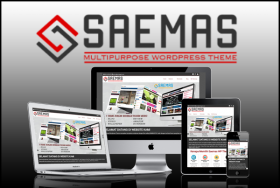Saemas (WP Theme + Wallpaper Post Builder)
