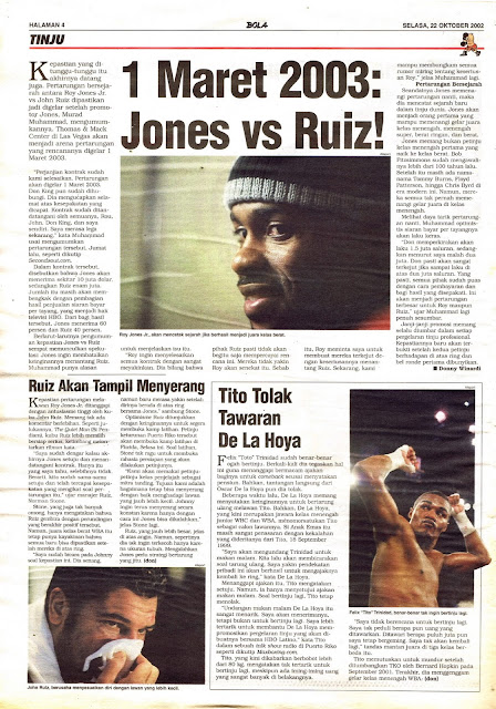 BOXING 2003 JONES VS RUIZ!