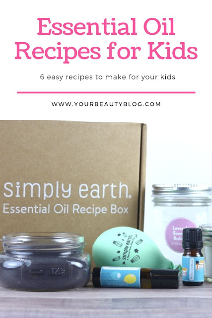 Six easy essenital oil recipes for kids. How to use EOs around children and families. Make these easy DIY recipes for natural remedies for calming, focus, and sleep. How to use oils safety for kids. Natural remedies for a night bath and aromatherapy for kids. Get ideas and tips for oils, including lavender, for kids.  #essentialoils #eos #kids #diy