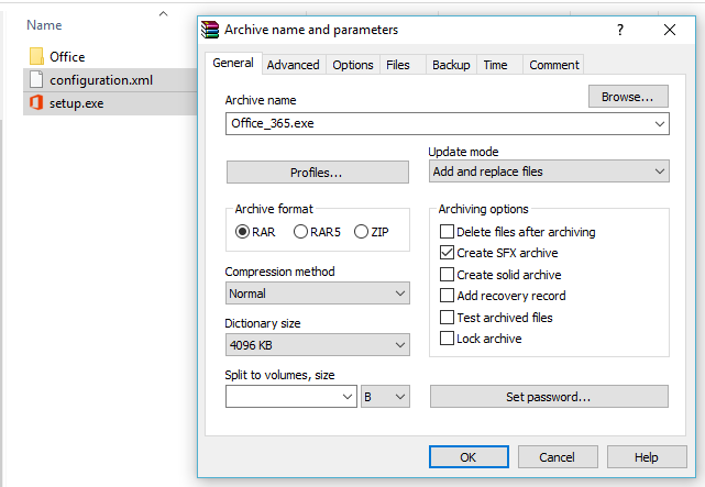 Create an Office 2013, 2016 and 365 Offline Installer ~ Ask My Tips