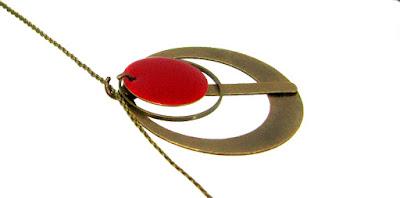 Bijou collier pendentif Phi
