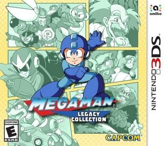 Rom MegaMan Legacy Collection 3DS