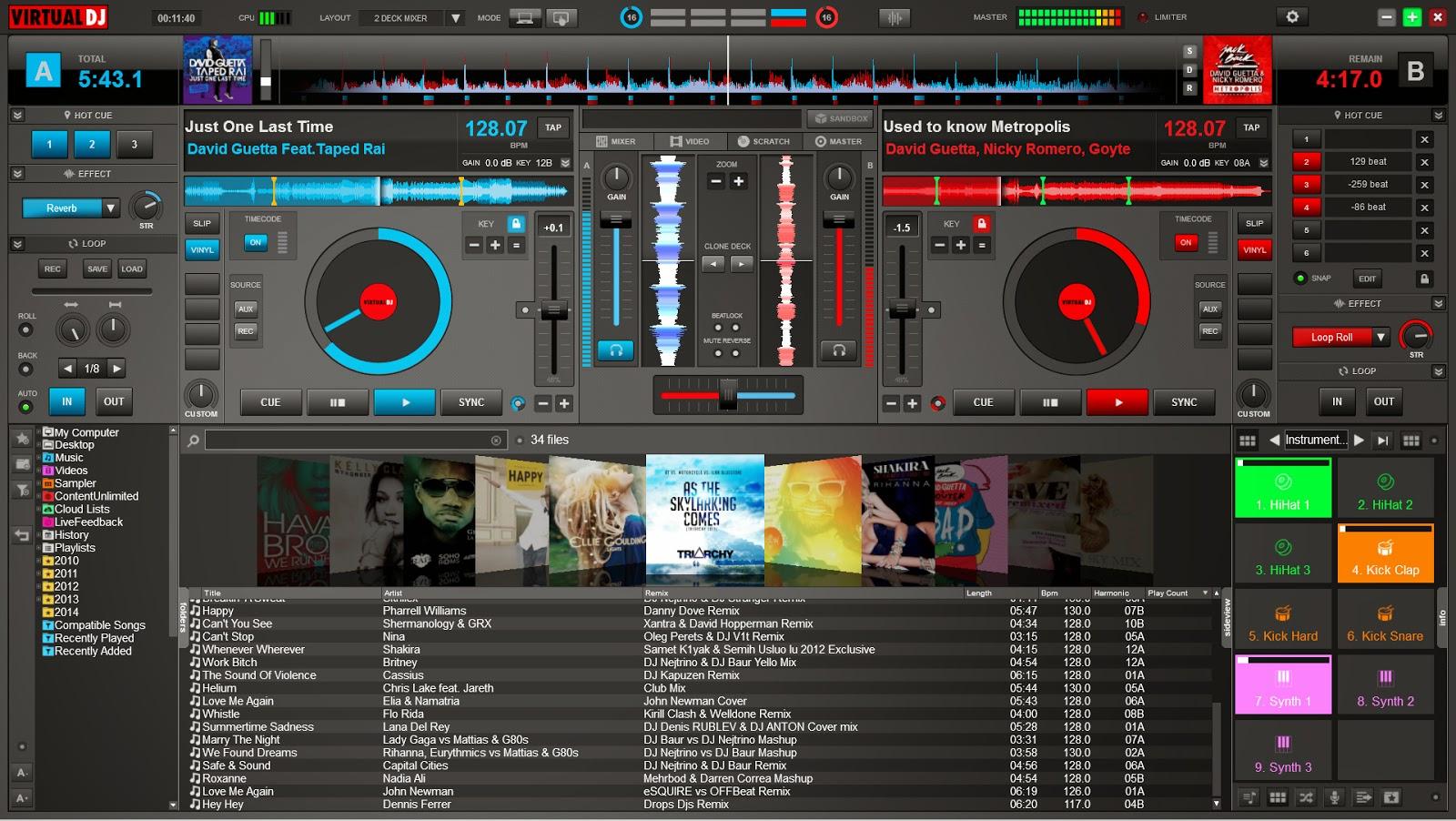 descargar virtual dj pro 8