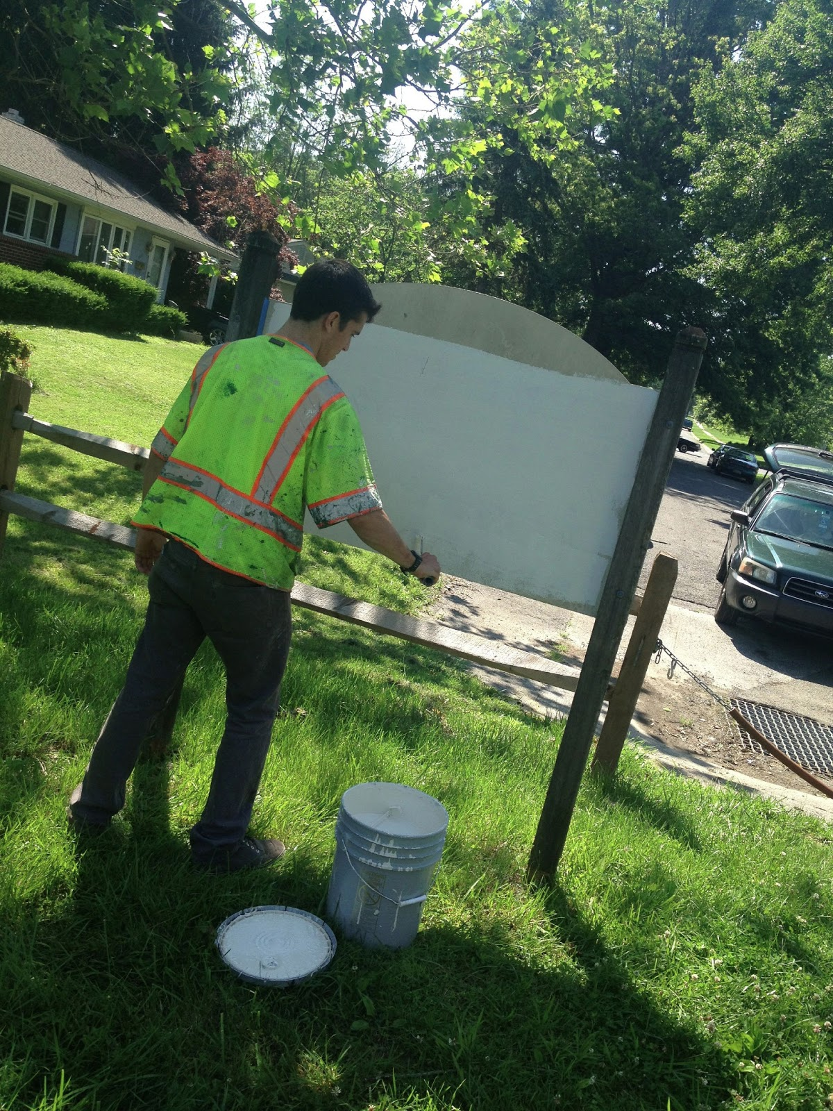 Delaware Anti Graffiti Brigades: NCC Harmony Hills Park