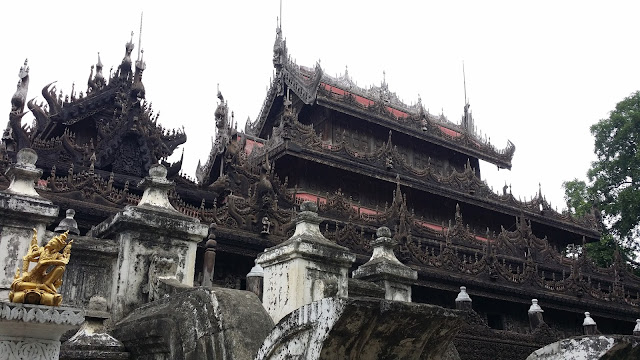 Monasterio Shwenandaw Kyaung (Mandalay)
