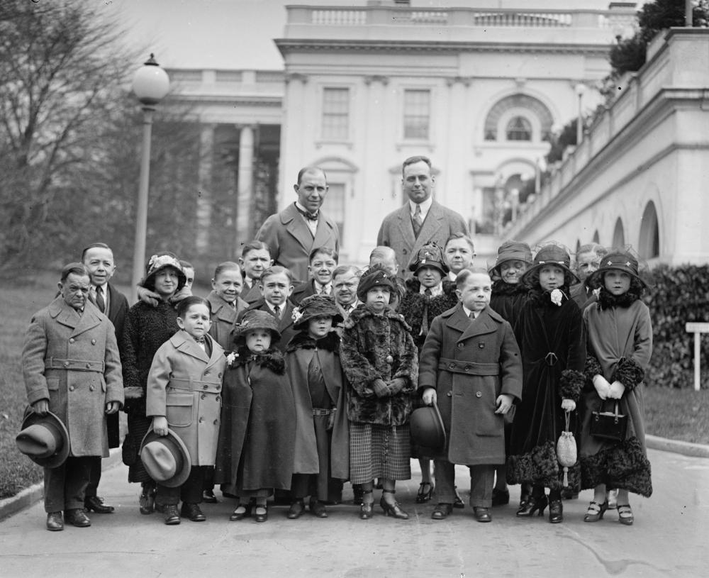 Coolidge Midget Marching Club, 1924