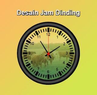 desain jam diding
