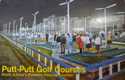A Putt-Putt postcard from South Africa