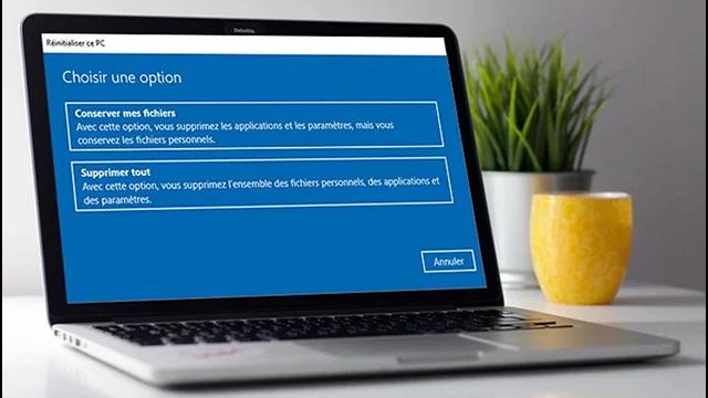 Comment réinitialiser facilement l'ordinateur Windows 10 aux paramètres d'usine?