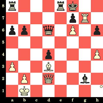 Les Blancs jouent et matent en 4 coups - Erik Andersen vs Wilhelm Hilse, La Haye, 1928