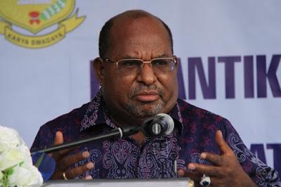 Gubernur Papua: Tidak Boleh Lagi Ada Orang Papua yang Mati, Kalau Tidak Saya Langsung Lapor PBB