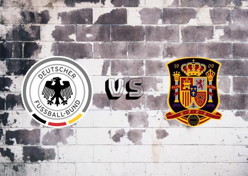 Alemania vs España  Resumen y Partido Completo
