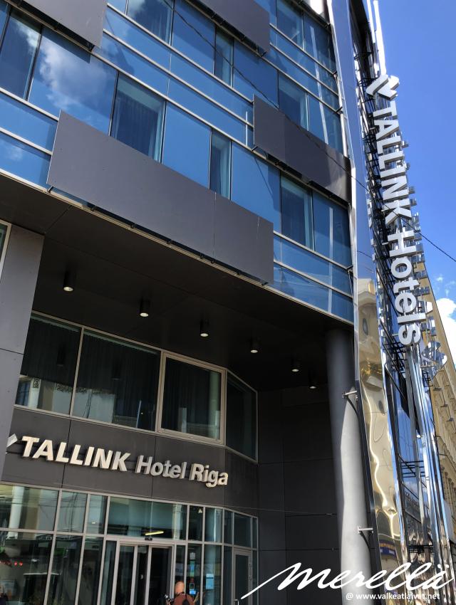 Tallinkin hotelli Riiassa