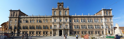 Modena's grand baroque Ducal Palace is one of the city's major attractions for visitors