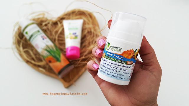 LeSandre Organics Pişik Kremi