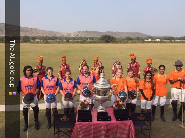 Antriksh India Jaipur Gold Cup organized at Mundota Fort & Palace Ground, Jaipur