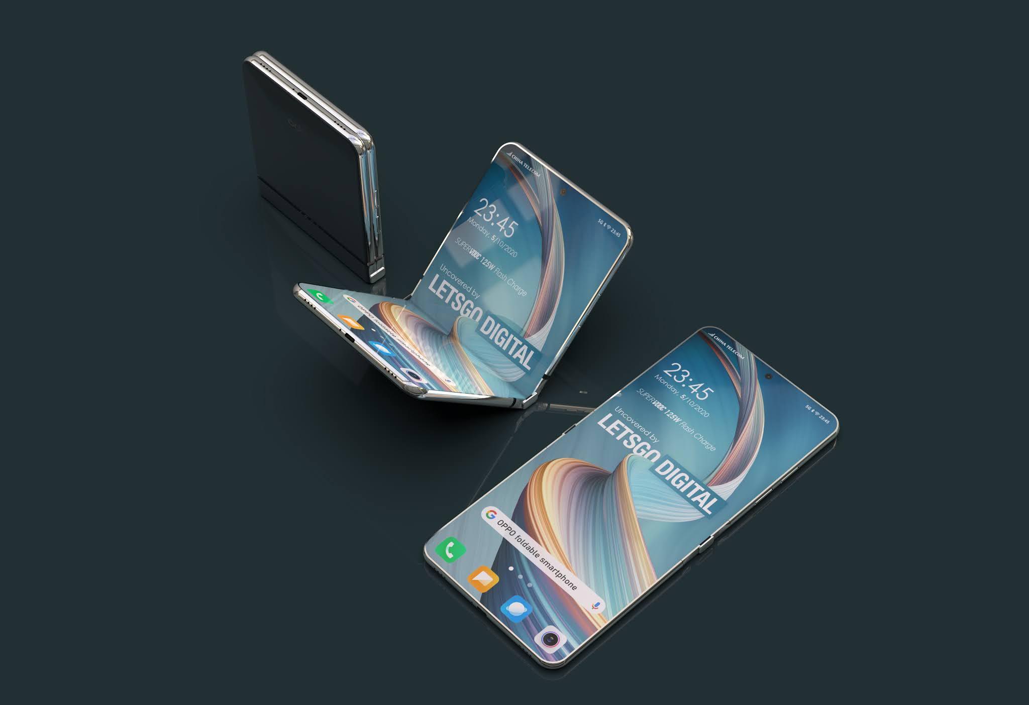 Lo smartphone pieghevole di OPPO sarà con apertura a conchiglia