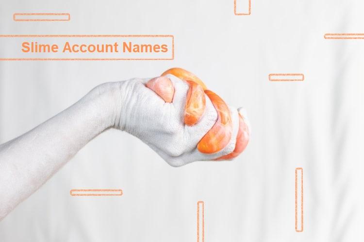 100+ Good Slime Account Names (List + Infographic)
