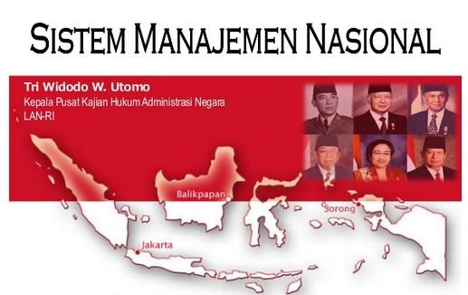 Politik Pembangunan Nasional dan Manajemen Nasional