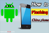 How to flash China phone | China mobile flashing software ||