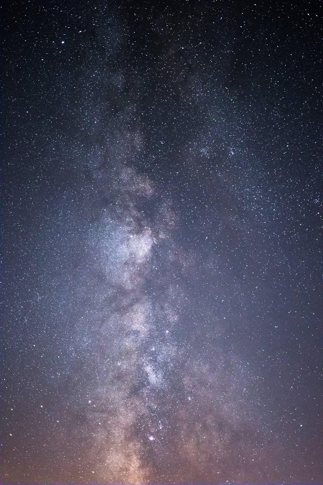 خلفية النجوم المضيئة - خلفيات ايفون فضاء