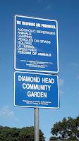 Rules of Diamond Head Community Garden - Waikiki, HI