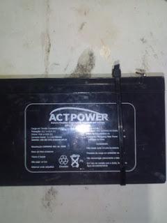 bateria de chumbo acido