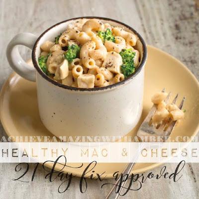 fixate mac and cheese, fixate mac and cheese with chicken and broccoli, 21 day fix, 21 day fix approved meals, portion control, clean eating, comfort food, clean comfort food