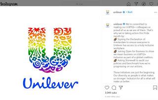 Unilever Support dan Dukung LGBT, Muncul Seruan Boikot Produk