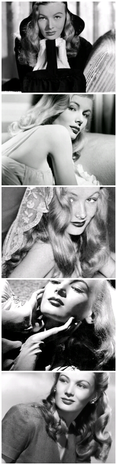 LAST LOOKS With Myke The Makeupguy: Beauty Icon: Veronica LakeElaine Detlie