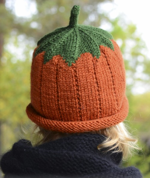 Sweet Pumpkin Hat - Free Pattern