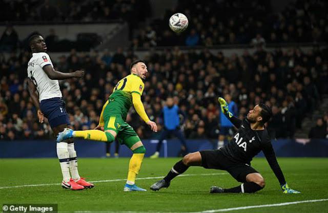 Video Tottenham 1-1 Norwich: Sai lầm đáng trách, luân lưu định đoạt