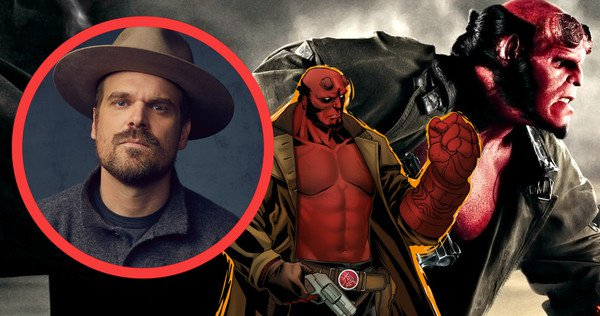 David Harbour o novo Hellboy