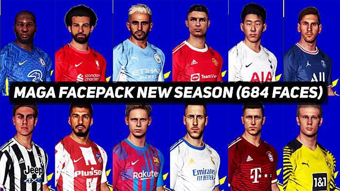 Mega Facepack September 2021 For PES 2017
