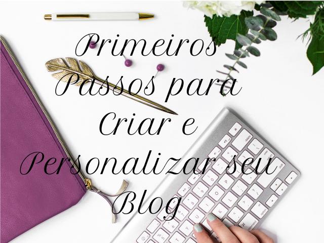 criando e persoanlizando um blog