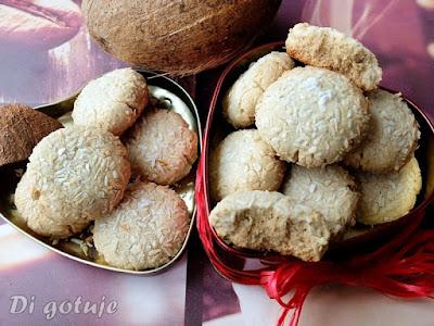 Bezglutenowe ciasteczka chałwowo-kokosowe (bez masła i jajek, wege)