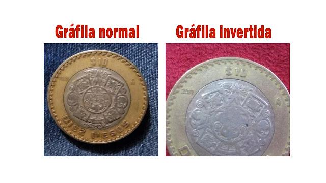Monedas de 10 pesos mexicanos que pueden valer más de 1000 (50 USD)